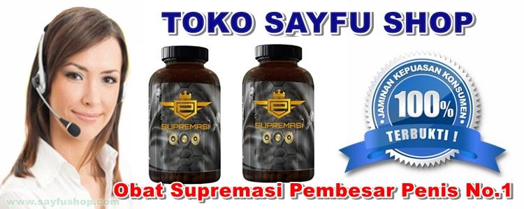 Toko Sayfu Jual Obat Supremasi Asli