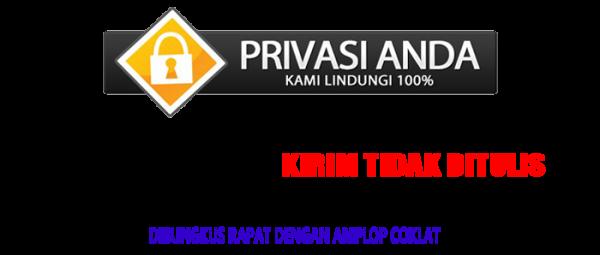 Privasi Dijamin Sayfushop